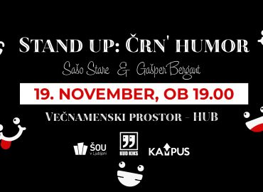 Stand up: Črn' humor